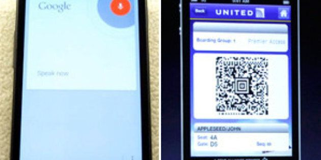 Google Search Update Gives iOS 6's Passbook Feature A Run For Its