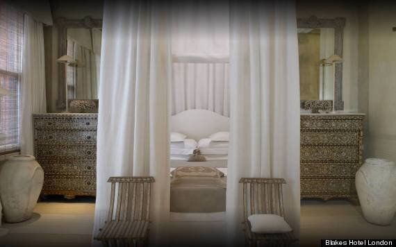 'Sexiest Hotel Bedroom' Title Goes To Corfu Suite At Blakes Hotel London