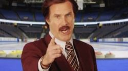 WATCH: Ron Burgundy Is A Canadian TV Host