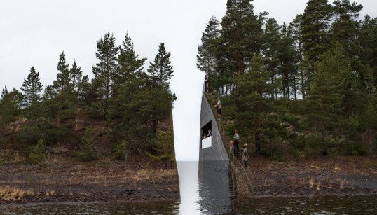 Norway's Powerful Memorial To Mass Shooting