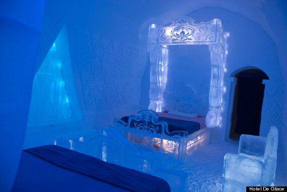 'Frozen Suite', Disney-Inspired Hotel De Glace Room, Is Pretty