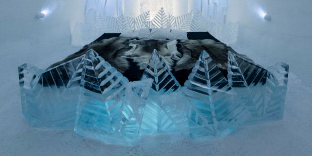 Ice Hotel Sweden Now Allowing Visitors To Design And Customize