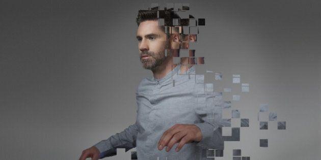 Portrait with digital
