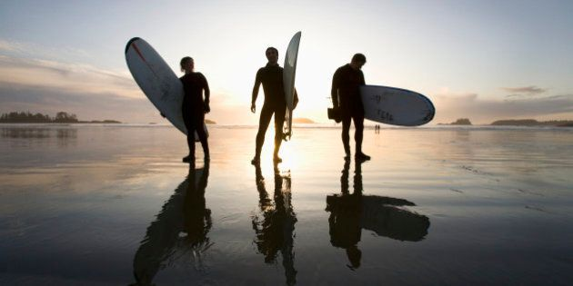 chesterman beach tofino vancouver island british columbia canada