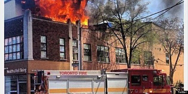 Fire Destroys Hollerado Singer Menno Versteeg's Apartment In Downtown