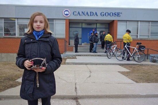 Is Canada Goose Afraid of Facing an 11-Year-Old
