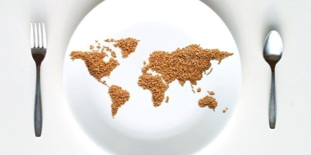 World Map of Grain on
