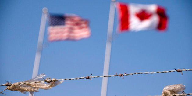 Canada, US Border