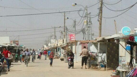 One Day In Jordan's Za'atari Refugee