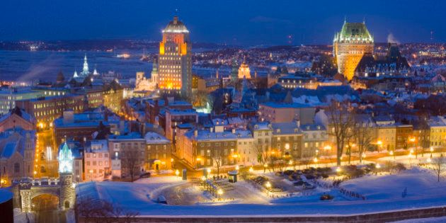 Quebec's Old Town is the only walled city in North America. It is also one of the oldest cities in North