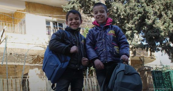 How Aleppo's Orphans Find A Place To Call