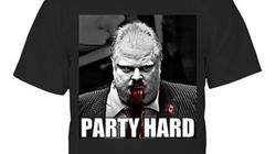 Andrew WK's 'Rob Ford Party Hard' T-Shirt Is Better Than A RoFo