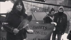 Idle No More Supporters Hold Solidarity Sunrise