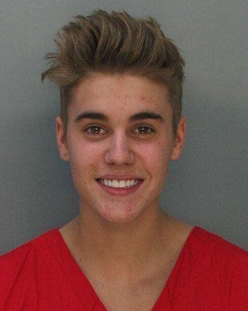 Justin Bieber Mugshot: Singer Arrested For DUI, Drag Racing (PHOTOS,