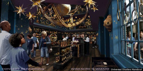 Wizarding World Of Harry Potter Diagon Alley Expansion Revealed
