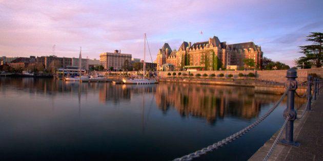 Empress Hotel , Victoria , Canada