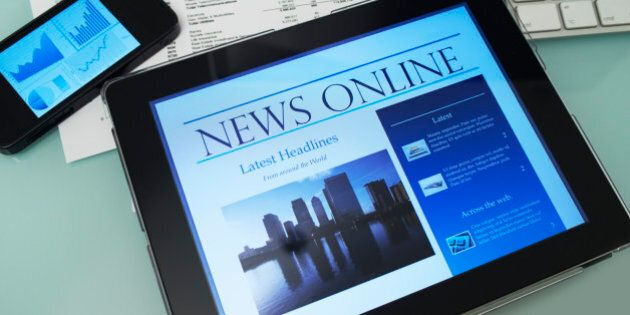 Tablet computer with Online streaming news
