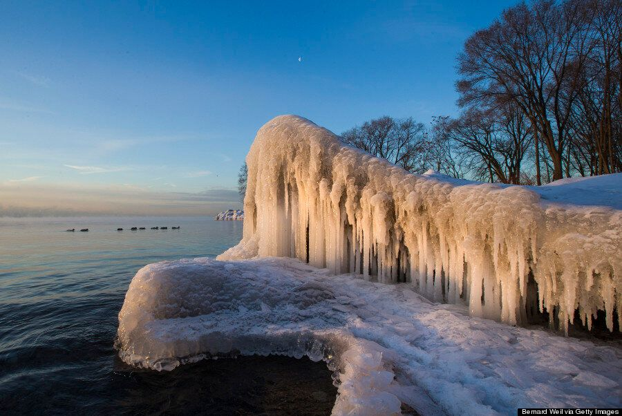 Lake Ontario In The Cold Is Pretty Much Frozen Beauty Perfected