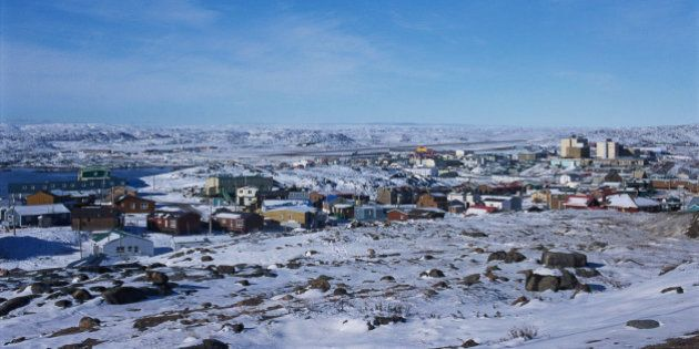 Iqaluit Under Snow