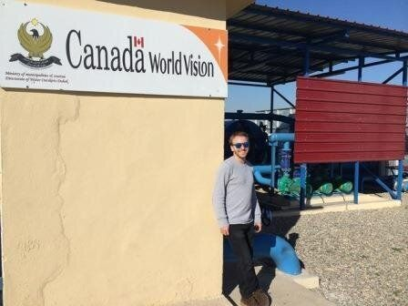 How Canada Provides Life-Giving Water To Iraqi Families Forced From Their