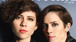 Tegan And Sara Make Cover Of Gay Mag's '40 Under 40'