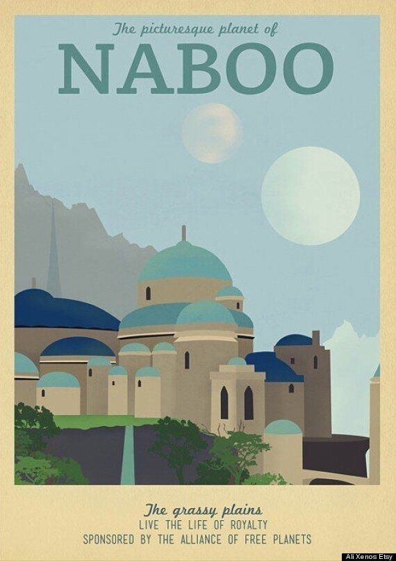 Travel Posters To Movie Locales Are A Roaming Film Buff's Ideal Christmas