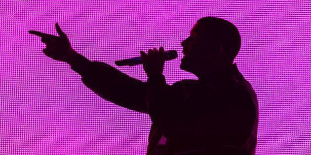 SAN DIEGO, CA - NOVEMBER 24: Drake performs onstage at Viejas Arena on November 24, 2013 in San Diego,...