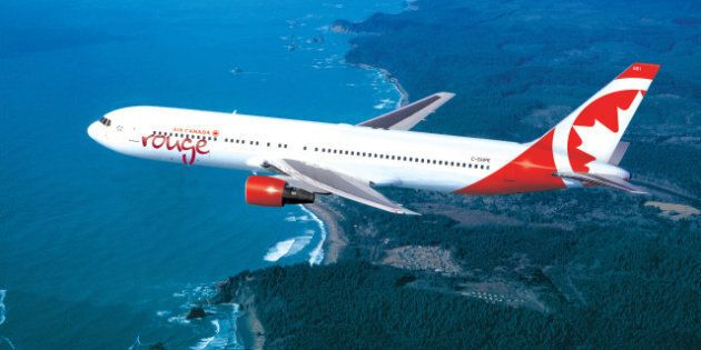 Air Canada Rouge: Canada's Flagship Airline Announces Details On New Low-Cost