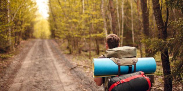 Man's traveling