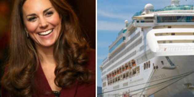 Kate Middleton Becomes Godmother In Princess Cruise Naming