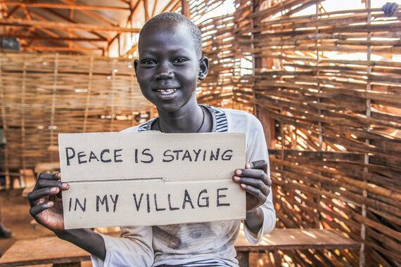 What Peace Means To Children Living In South