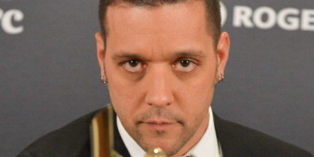 TORONTO, ON - MARCH 03: George Stroumboulopoulos, winner for the shaw media award for best host in a...