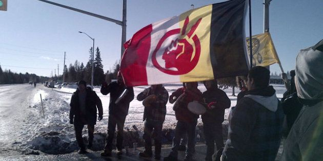 Idle No More Protest: Closes Trans-Canada Highway In Northern Ontario For 3
