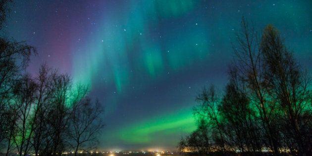 northern lights and big