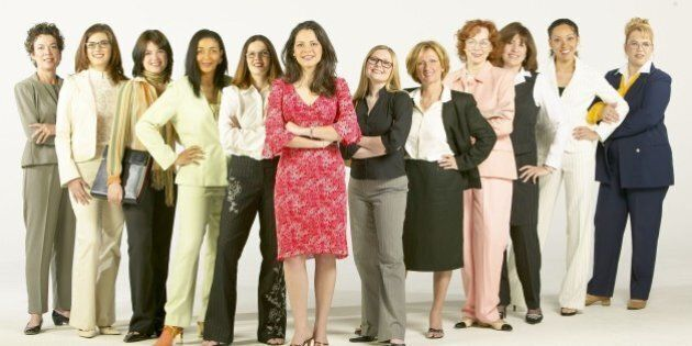 Portrait of confident businesswomen