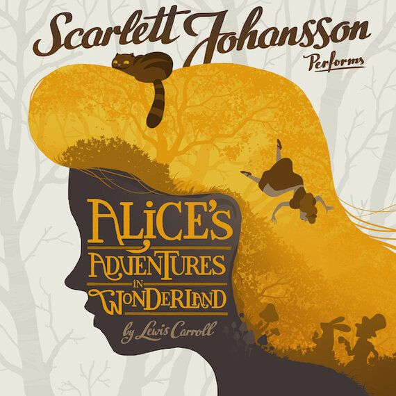 Scarlett Johansson Shines In Audible's 'Alice In