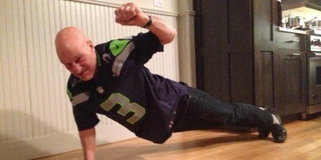 Patrick Stewart Beats The Super Bowl