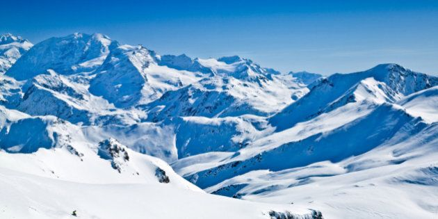 Skiing The French Alps: Vive Le