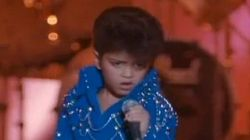WATCH: Bruno Mars Was A Toddler Elvis