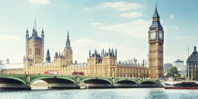 Big Ben in sunny day,