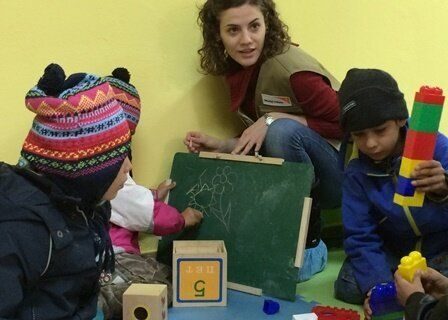 A Look Inside A Wayside Playroom For Syrian Refugee