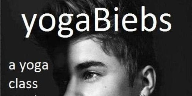 YogaBiebs: 'Shameless' Fan Starts Bieber Exercise Class In