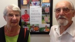 How A Couple In Their 90s Is Helping To Care For The World's