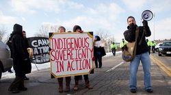 Idle No More Protest Closes Bridge To