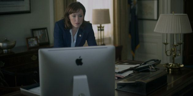 Molly Parker On 'House Of Cards' Season 2, Jackie Sharp, And Women In