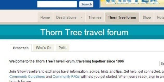 Lonely Planet Thorn Tree Reopens: Travel Forum Back Online After BBC Removes 'Rogue