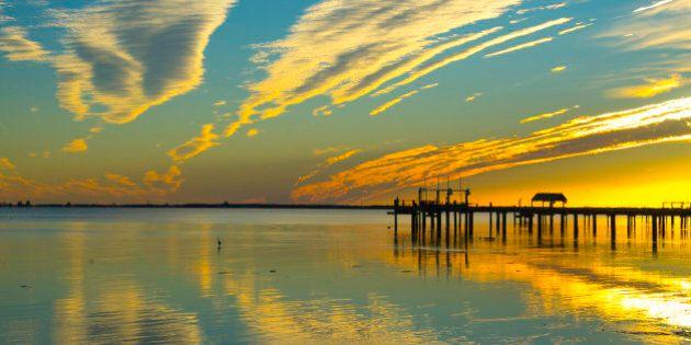 Sunset,Tampa Bay, St Petersburg,