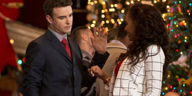 Robin Dunne On 'Twelve Trees Of Christmas,' And Shooting A Holiday TV Movie In The