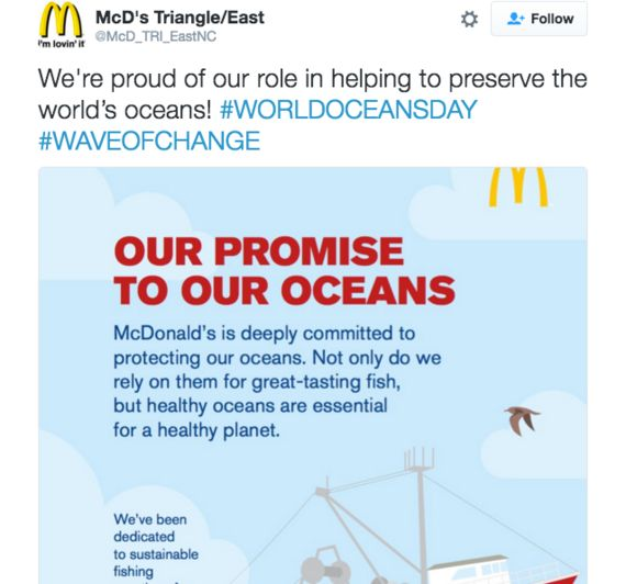 SeaWorld Sponsors Oceans Day To Control The Narrative Of