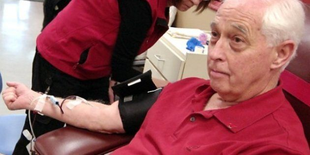 Ken Davies Blood Donation: 70-Year-Old Kelowna Man Has Donated Blood For Over 50
